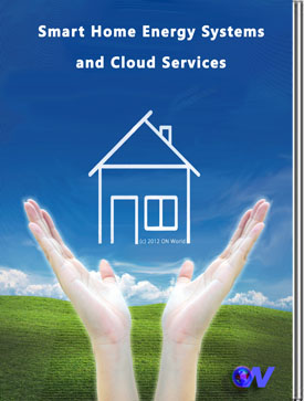 smart home energy systems and cloud services home area network